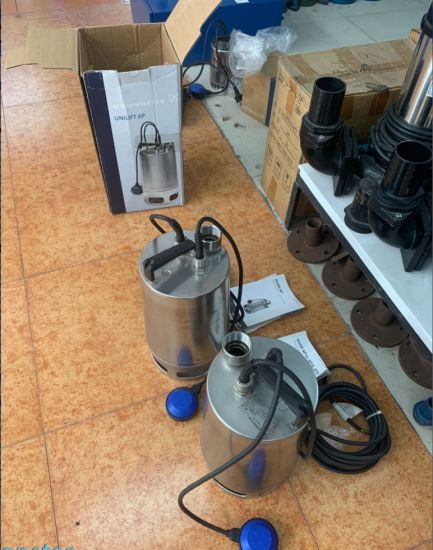 Grundfos Unilift Stainless Steel Sewage Pumps Ap35.40.08. A1V