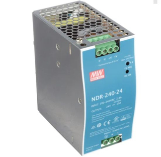 Mean Well DIN Rail Power Supplies Ndr-240-24