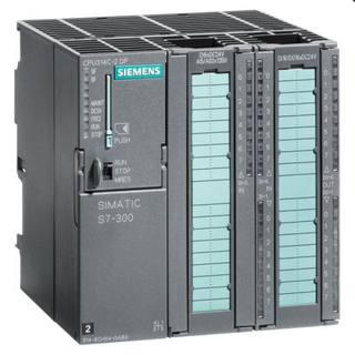 Siemens Simatic S7-300 PLC 6es7313-6CH04-0ab0 with 4 High-Speed Counters